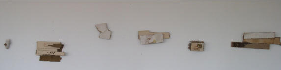 DOMICILE FRAGMENTS ON WALL